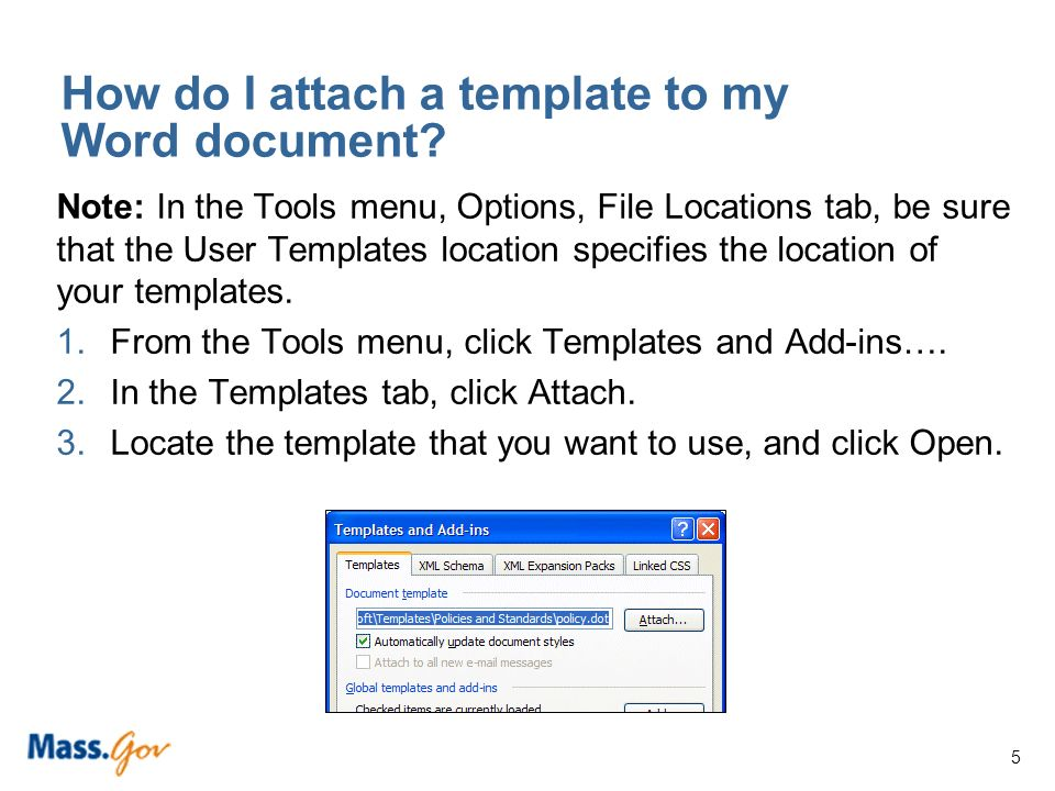 Microsoft ® Word Templates and Accessibility. 1 What is a Word ...