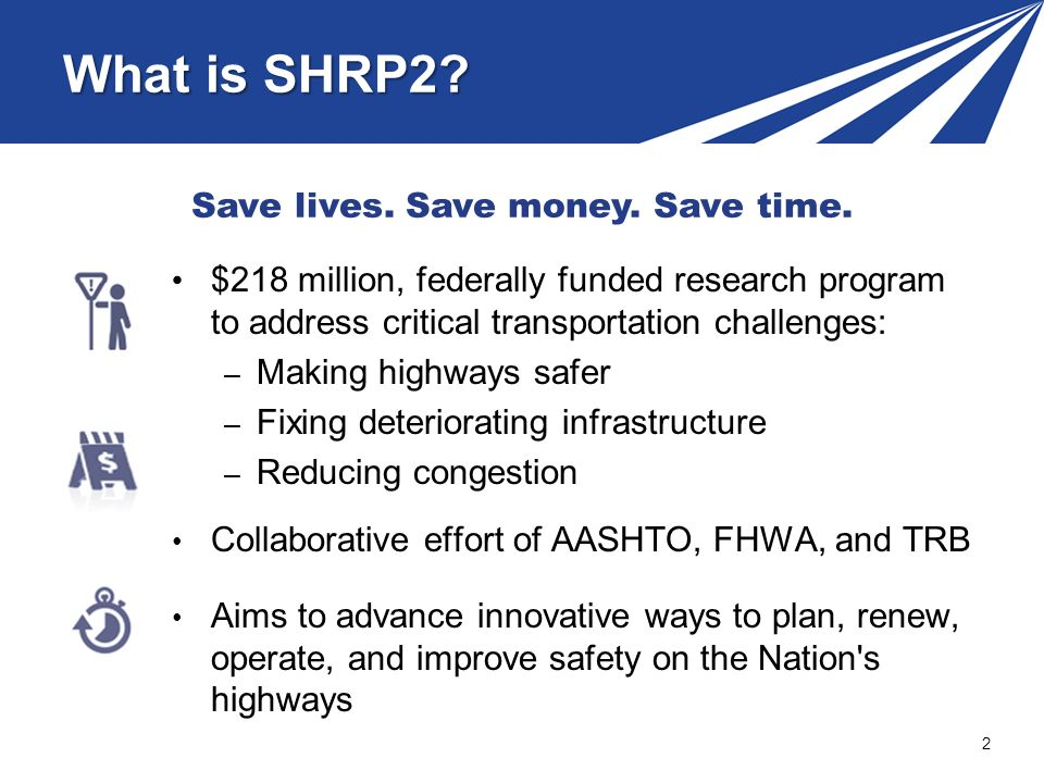 What is SHRP2.