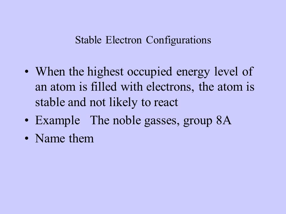 IONIC BONDS Gaining or losing electrons Bonds are between metals and nonmetal