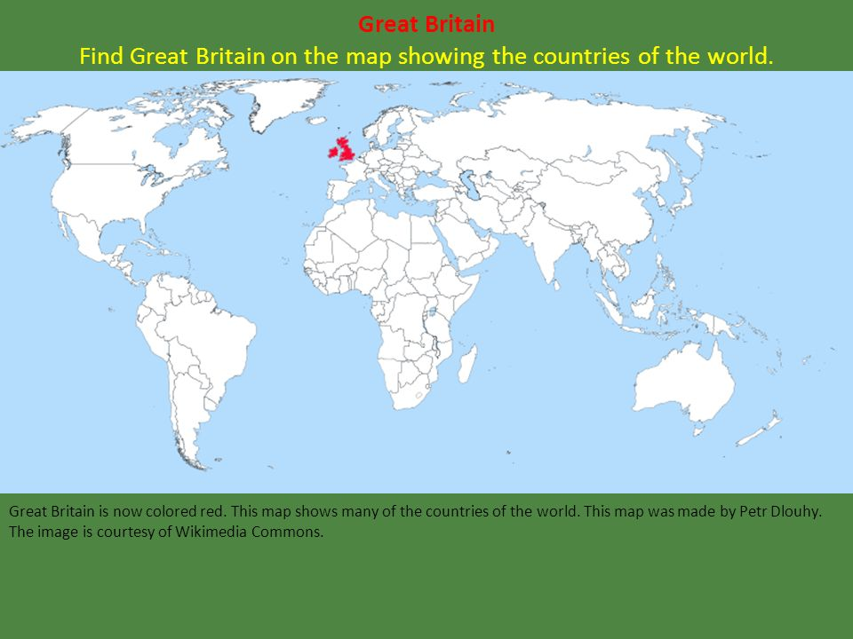 LEQ In What Area Of North America Did The English First Land - Britain on a map