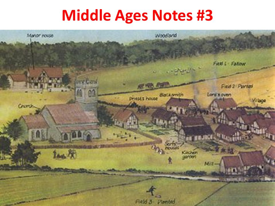 Middle Ages Notes #3