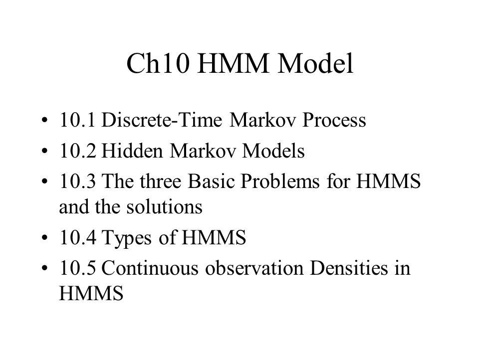 markov process model