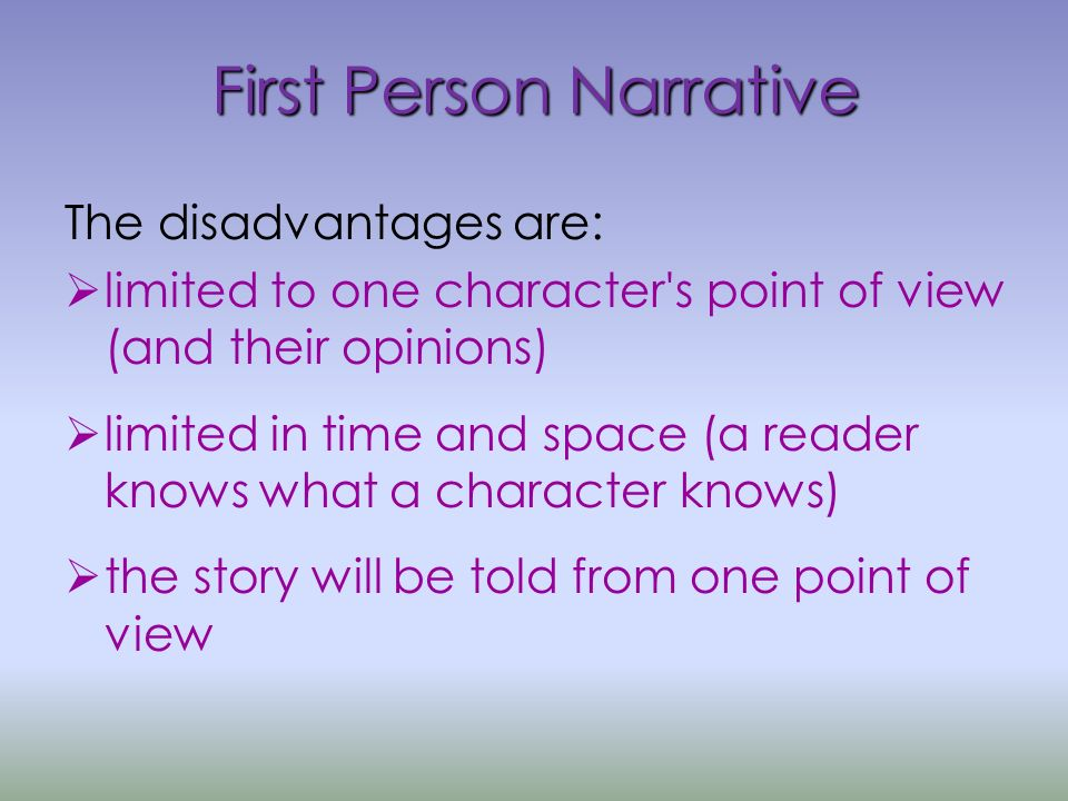 creative writing narrative
