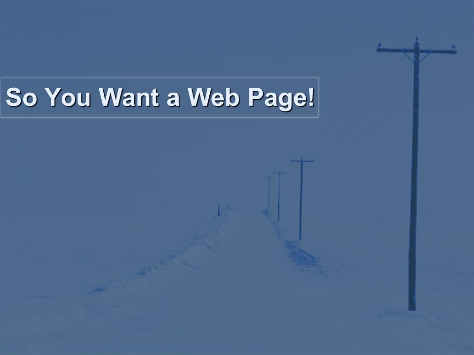 What is a web based presentation?