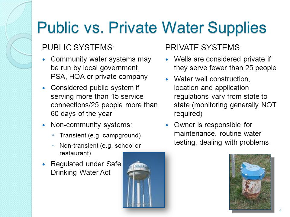 safety of public drinking water essay Health officials should be part of the discussion on how to protect drinking water the public effects occur and which allow an adequate margin of safety.
