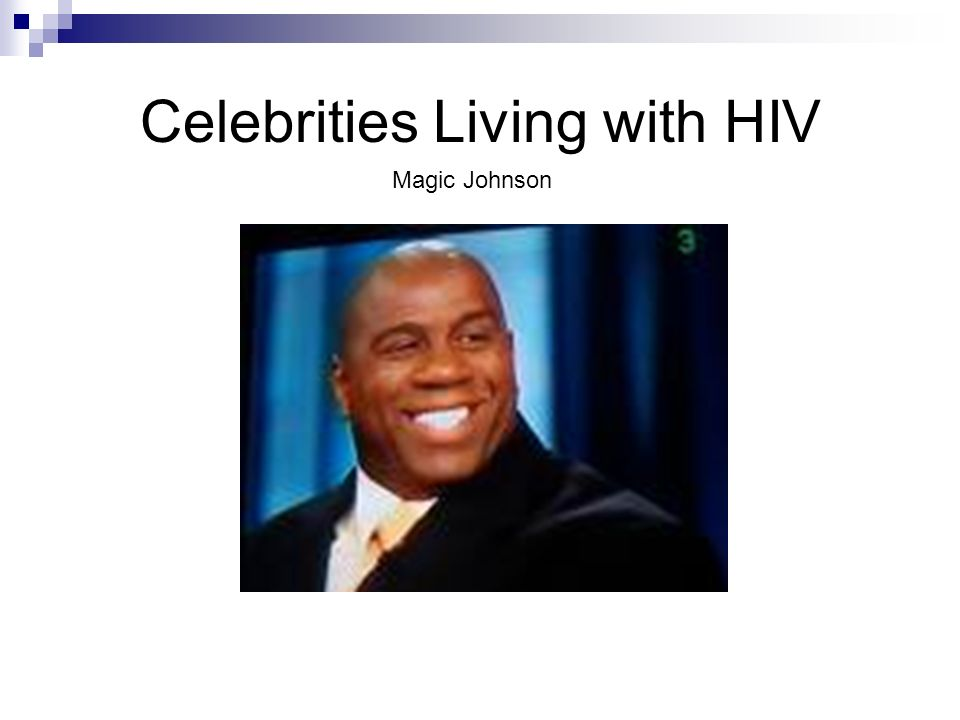 Celebrities Living with HIV Magic Johnson