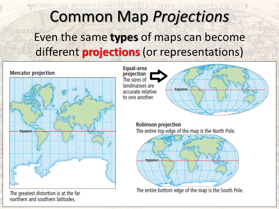 map projection types - Selo.l-ink.co