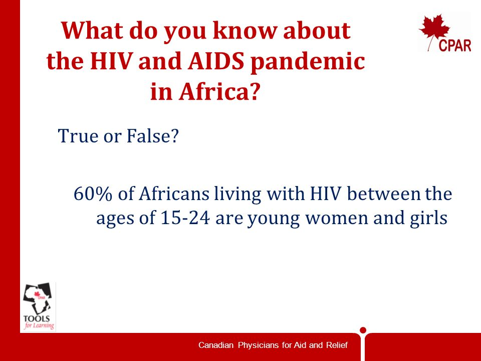 Canadian Physicians for Aid and Relief True or False.