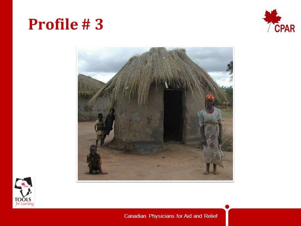 Canadian Physicians for Aid and Relief Profile # 2