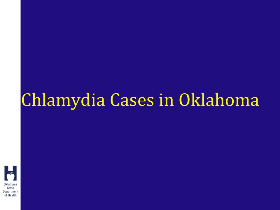 Chlamydia Cases in Oklahoma