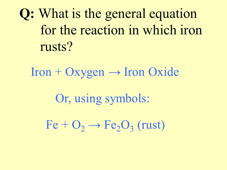 Chemical equations are used to represent CHEMICAL REACTIONS Reactants: Zn + I 2 Product: Zn I 2