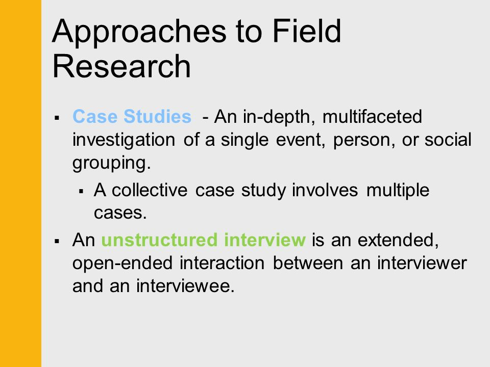 Be familiar with the types of research study designs     Be aware