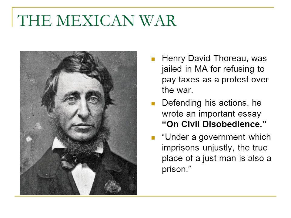 Mexican war essay...???