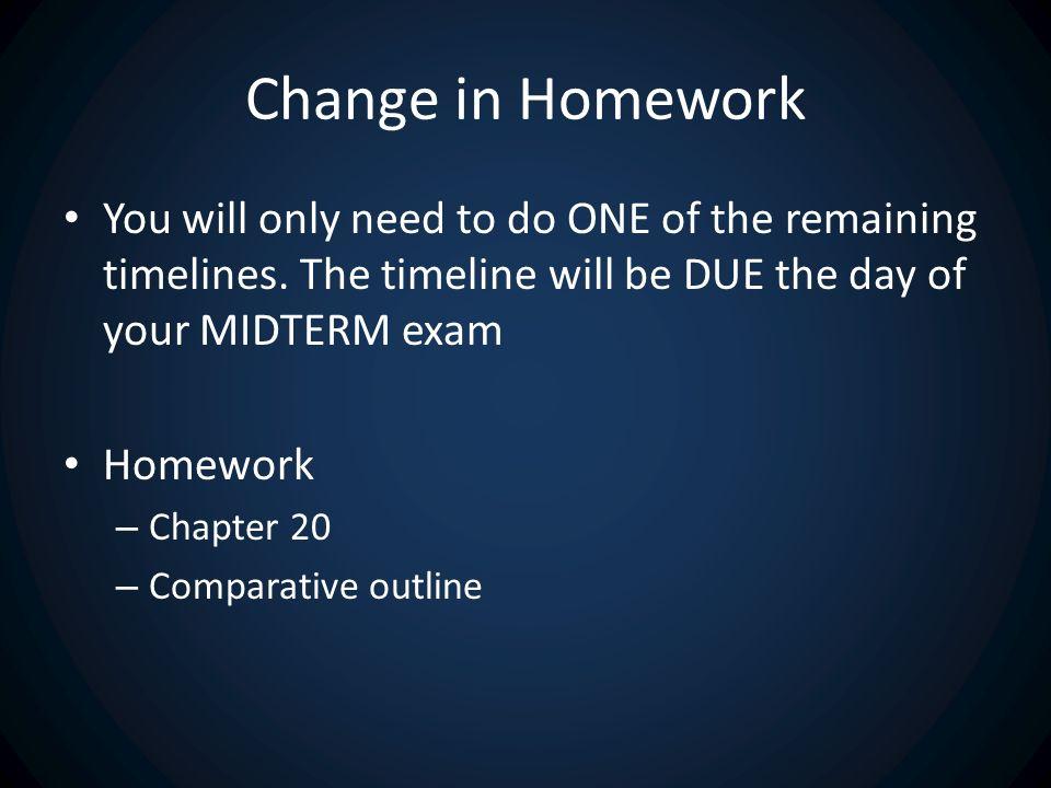 homework for chapter 20