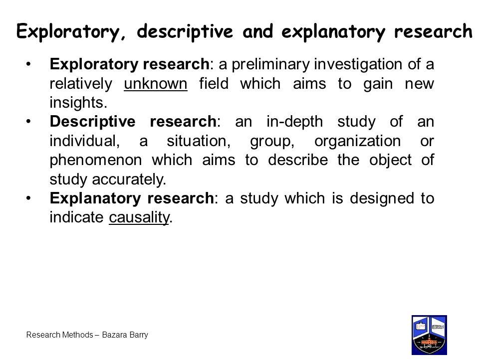 Exploratory Essays