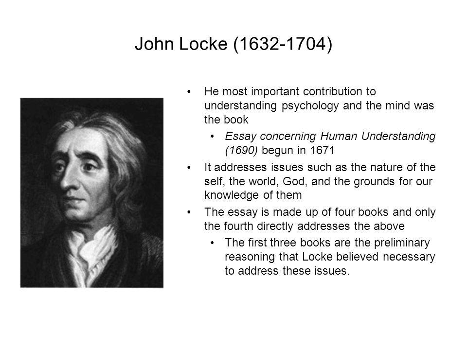 Essay Concerning Human Understanding By John Locke In Pdf