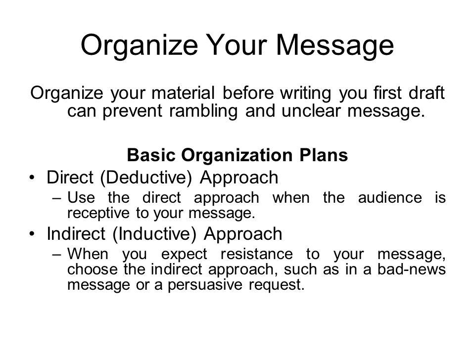 Business communication workshop course coordinatorayyaz qadeer 3 organize spiritdancerdesigns Choice Image
