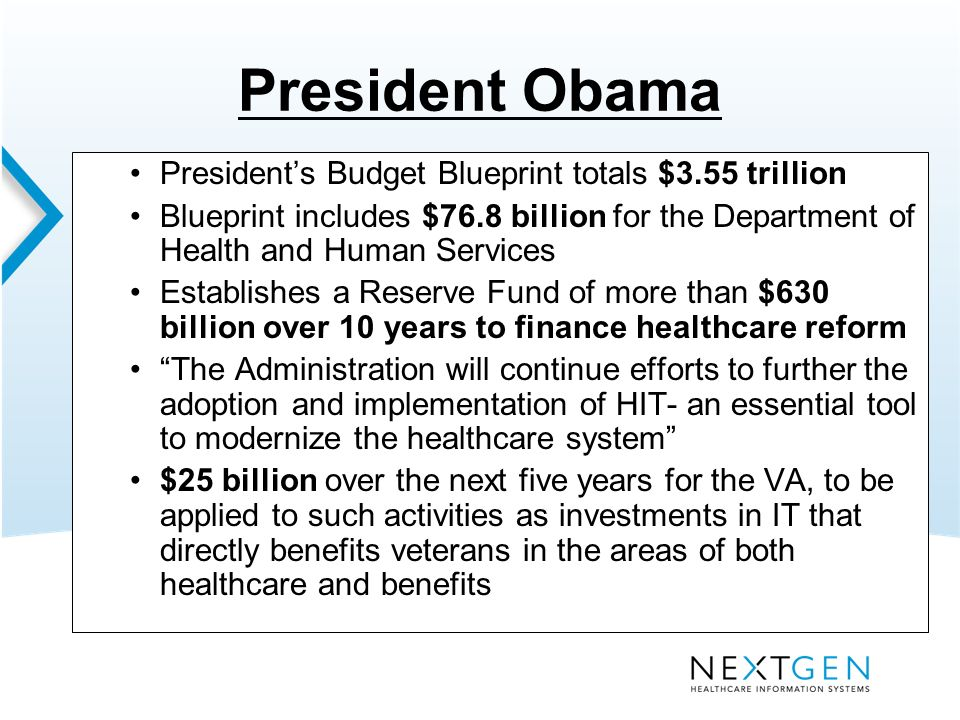 The hit market has changed how nextgen can help you charlie jarvis 7 president obama presidents budget malvernweather Choice Image