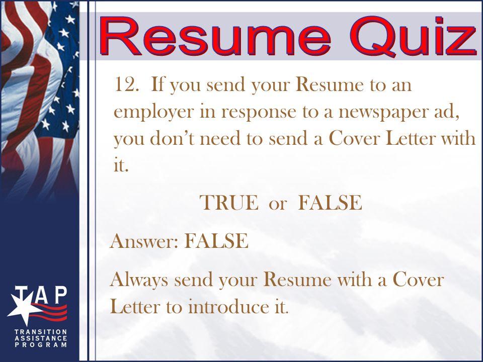 create an effective résumé objectives understand how to write
