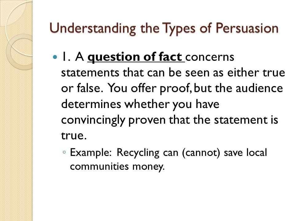 Persuasion speech