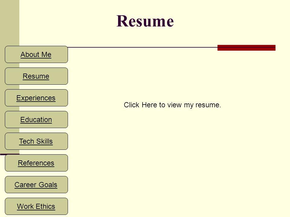 technology skills on resume
