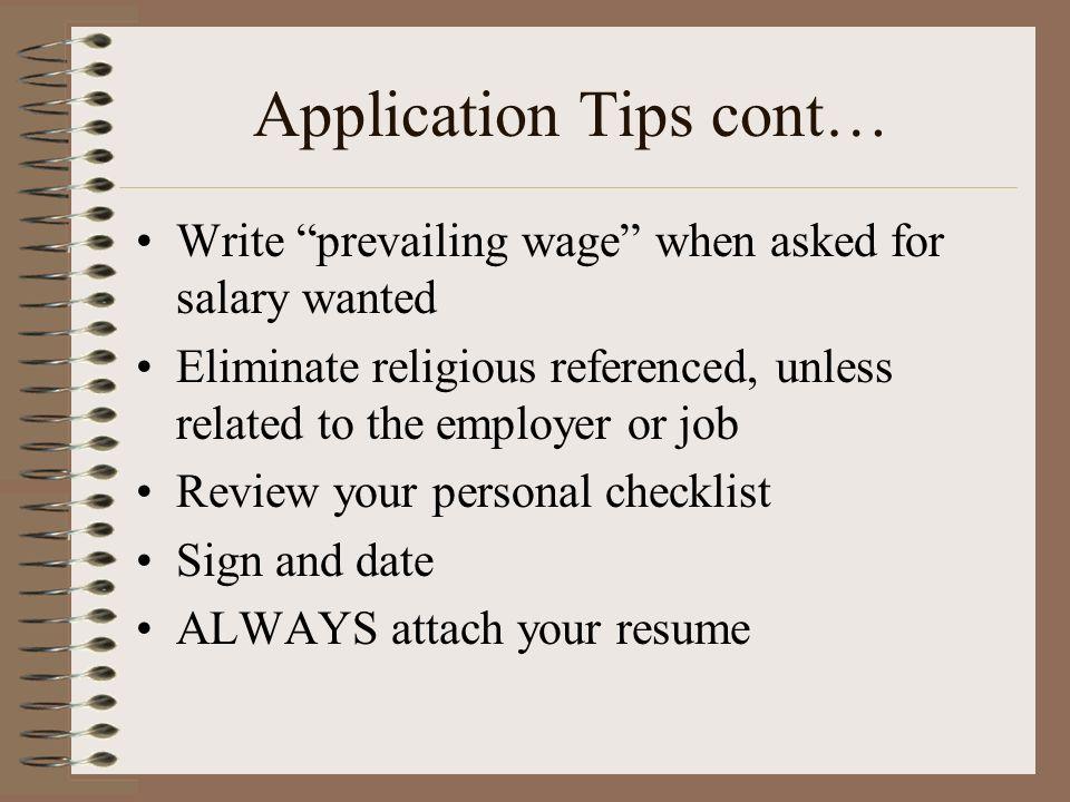guest speaker chapter 4 career planning employment application