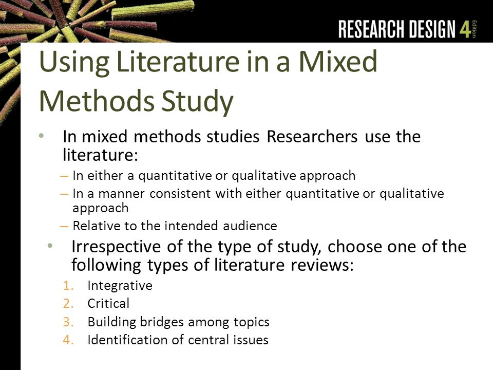 Sample Of Literature Review For Research