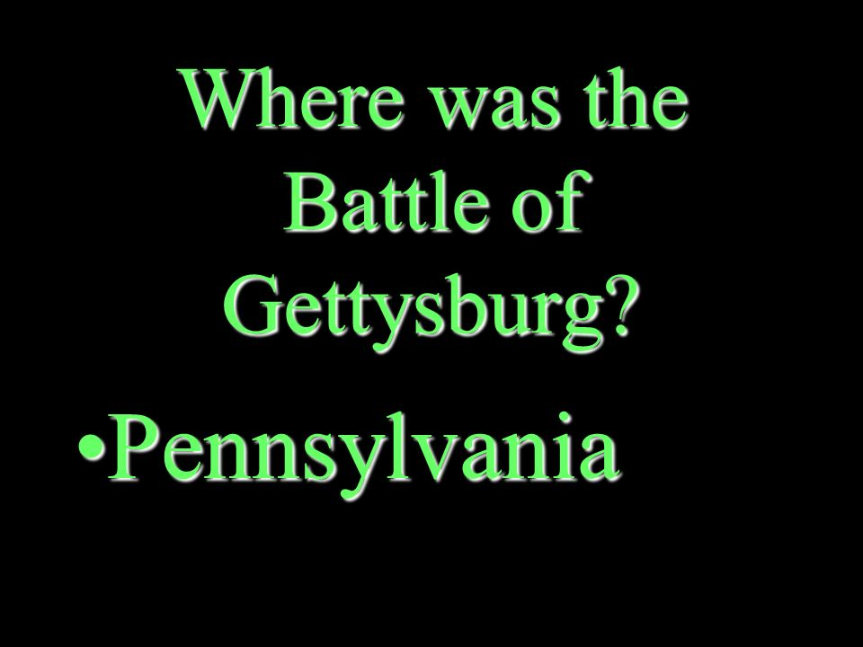 Which side won the Battle of Gettysburg The NorthThe North