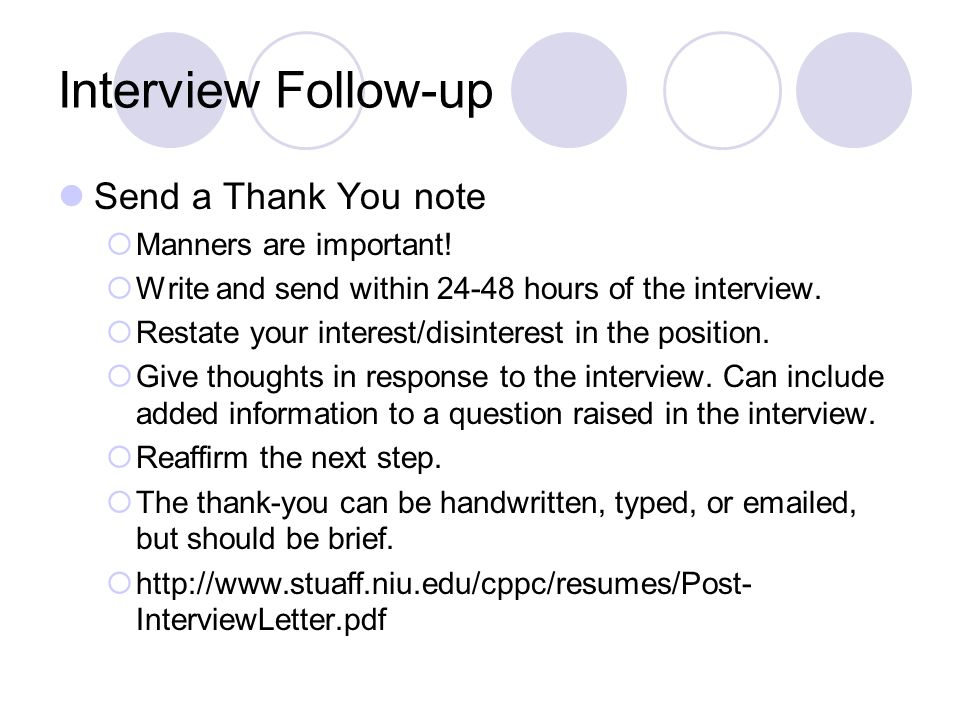 Thank you letter and networking letter career skills for the it interview follow up send a thank you note manners are important expocarfo