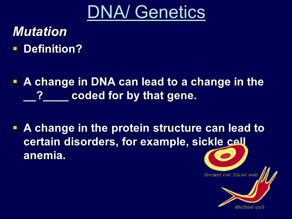 DNA/ Genetics Sex linked traits  Typically carried on the X chromosome  Example: hemophilia, color blindness.