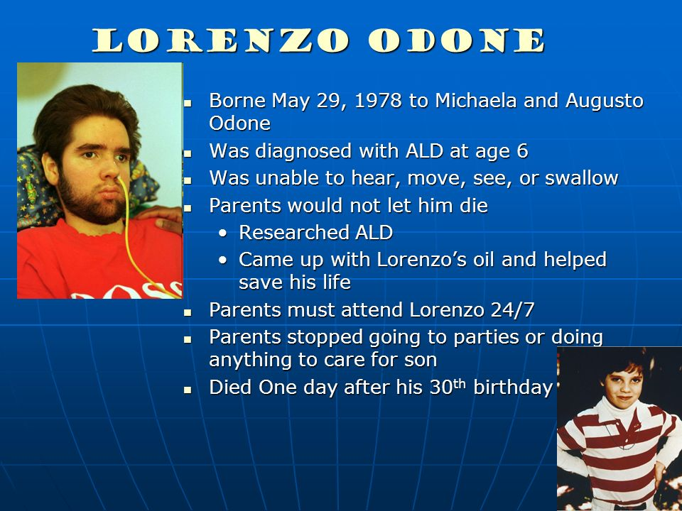 Augusto Odone, Father Behind 'Lorenzo's Oil,' Dies at 80 - The New ...