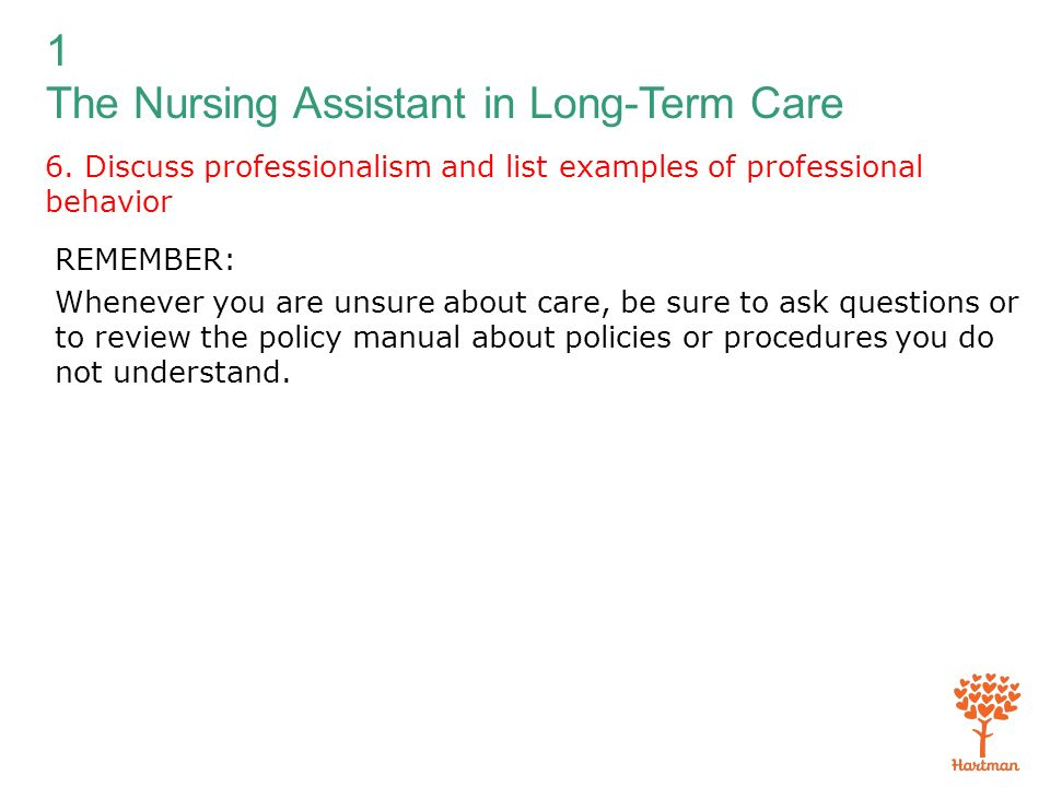 Where are useful policy manuals for nursing?