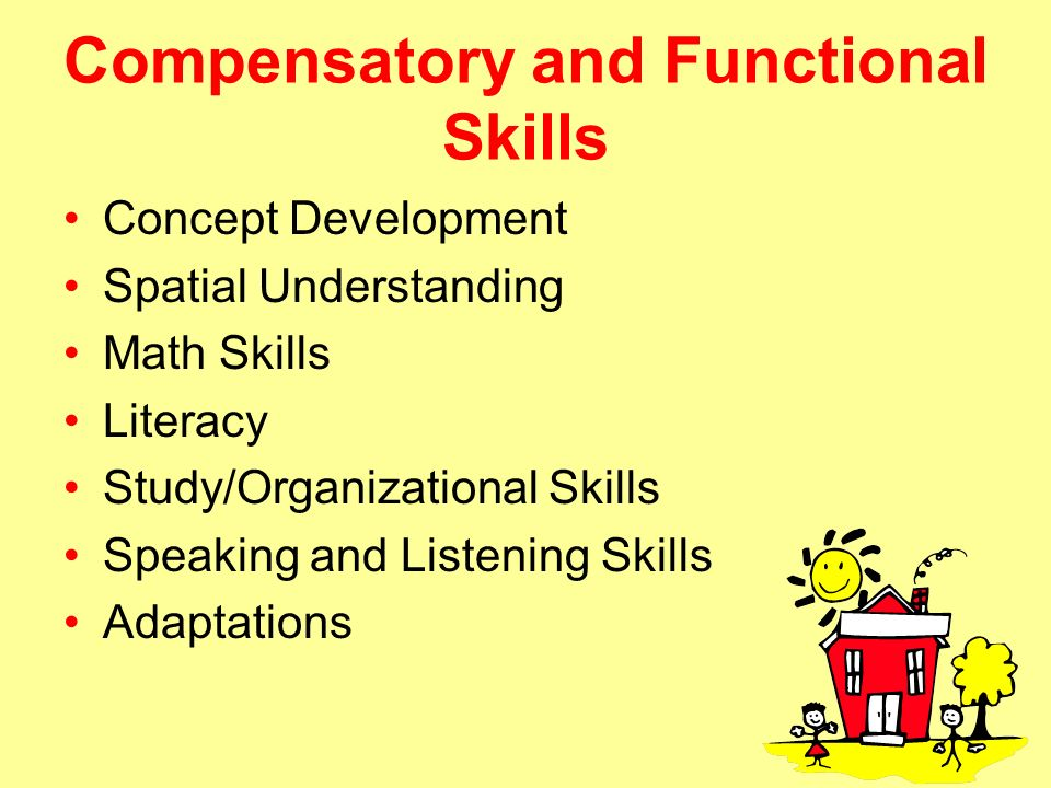 Image result for compensatory skills