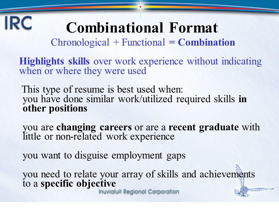 resume highlighting skills