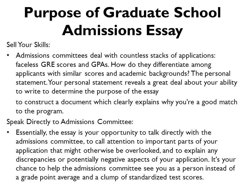 How to format agraduate essay