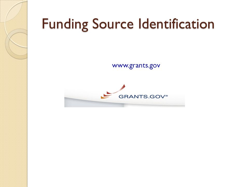 Funding Source Identification