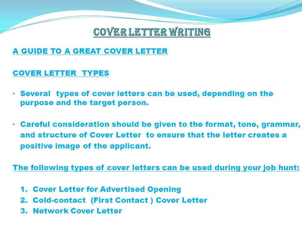Covering Letter For Job Application Sample Cover Letter.