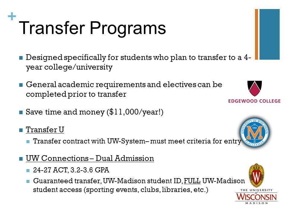 uw transfer application essay