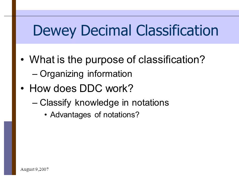 math worksheet : august 92007 supporting the school library program through  : Dewey Decimal System Worksheet