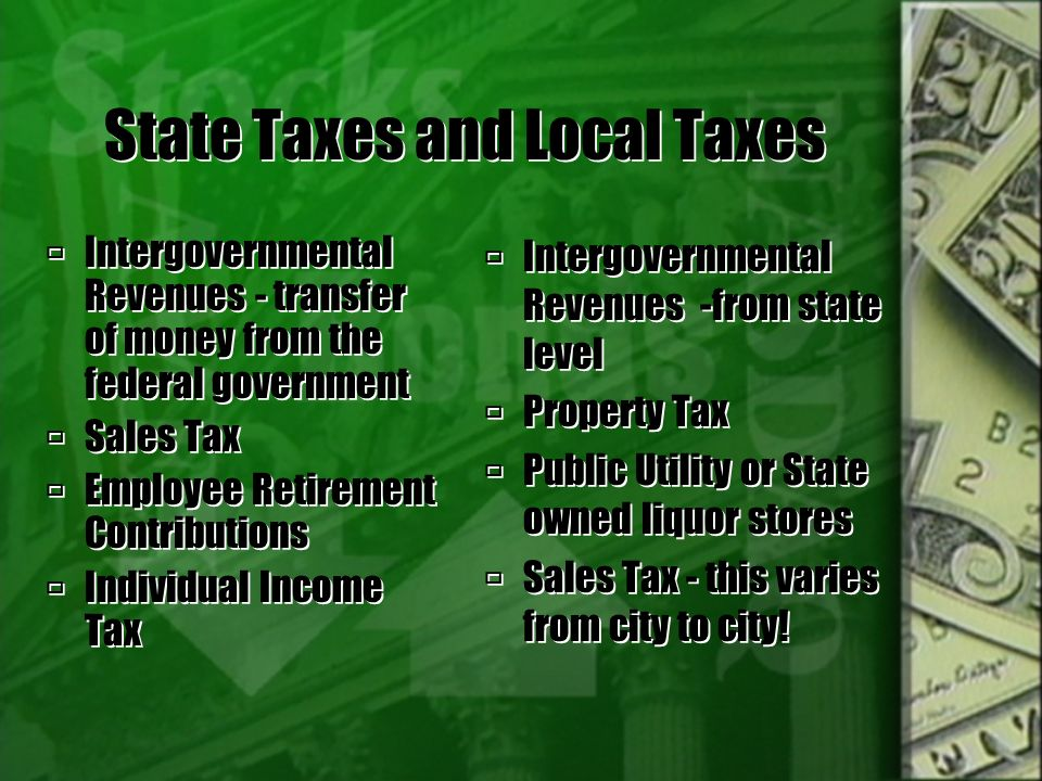 More Federal Taxes  FICA - Federal Insurance Contributions Act  Social Security and Medicare  Corporate Income Tax - As a separate legal entity, corporations are taxed.