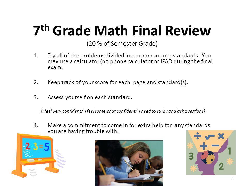 7 grade math problems