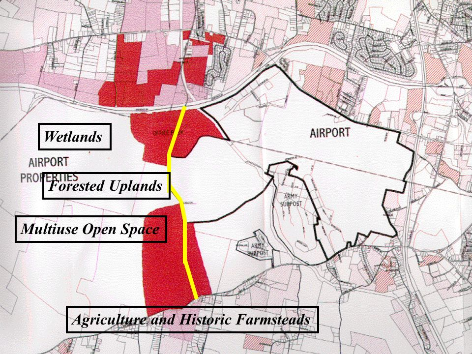 Wetlands Forested Uplands Multiuse Open Space Agriculture and Historic Farmsteads