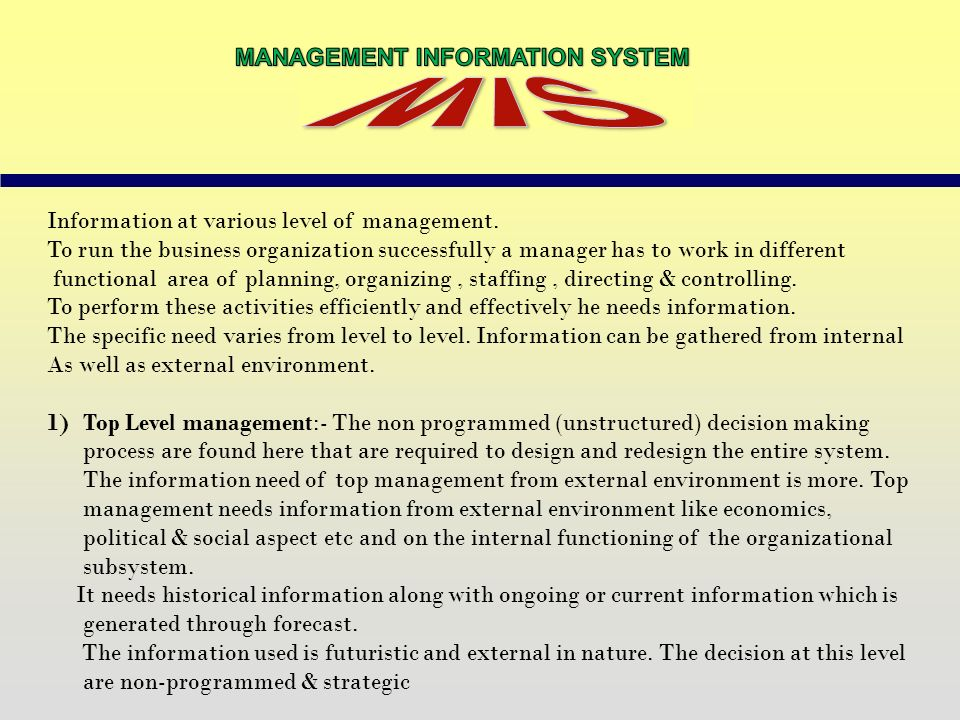 management information system. tactical information strategic, wiring diagram