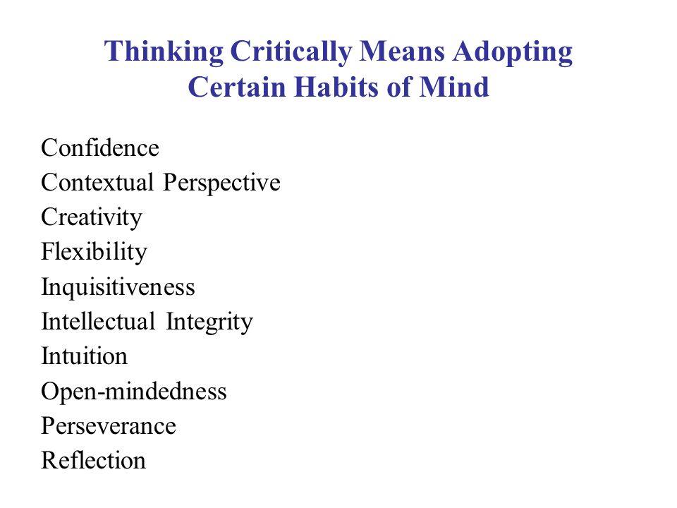 Critical Thinking Consortium