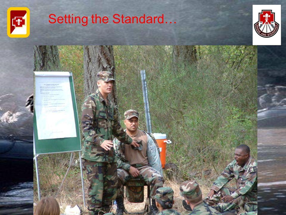 Setting the Standard…