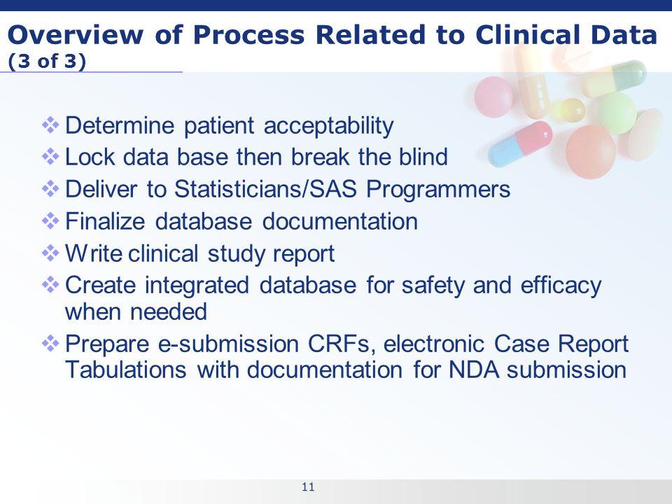 11 11 - Clinical Database Programmer