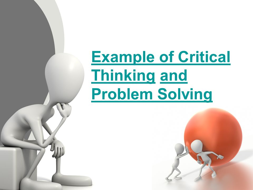 Creative Thinking And Problem Solving Essay