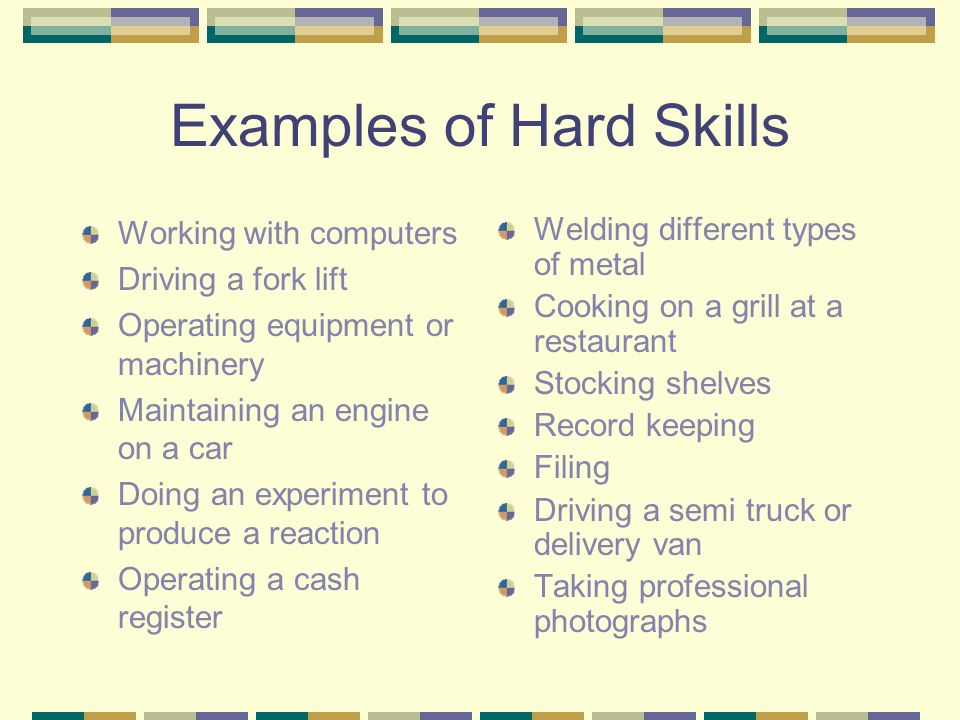 hard skills examples on a resume twnctry