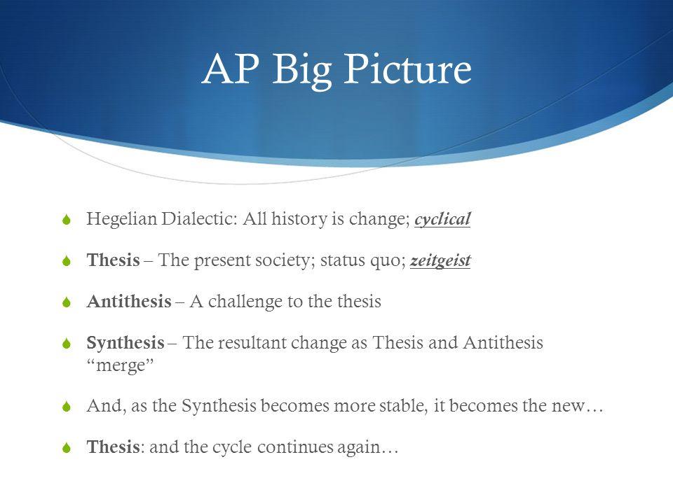 thesis anti-thesis hegelian
