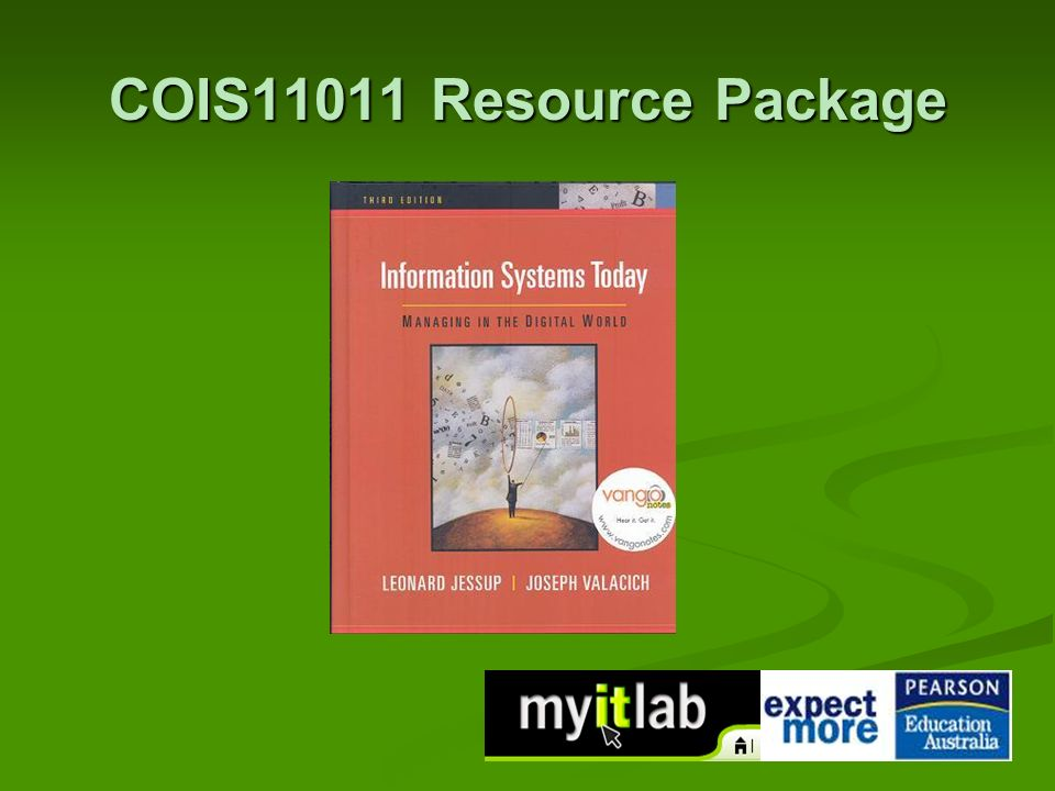 COIS11011 Resource Package